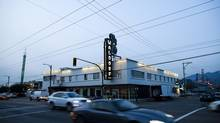 East Vancouver's historic Waldorf Hotel, photographed in October 2011. (Rafal Gerszak for The Globe and Mail)