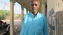 Bashe Abdi Godane is the 54-year-old brother of Ahmed Abdi Godane, the shadowy leader of Somalia's biggest terrorist group, al-Shabab. His mother's house in Hargeisa, the capital of the self-proclaimed nation of Somaliland, was raided by police commandos in early May, and two of his brothers were taken into custody without charges. Bashe Godane says he hasn't seen Ahmed for many years and he disagrees with his extremist views. (Geoffrey York/The Globe and Mail)