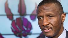 Head coach Dwane Casey speaks during the NBA team Toronto Raptors media day in Toronto September 30, 2013. (Reuters)