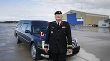 As the Casualty Administration Officer for the Canadian Forces, Captain Wayne Johnston ensures the timely and dignified return of soldiers who die in Afghanistan. (Charla Jones/Charla Jones/The Globe and Mail)
