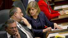 NDP Leader Andrea Horwath has taken a tougher approach to provincial politics. (Kevin Van Paassen/The Globe and Mail)