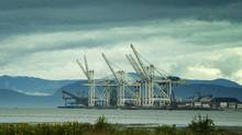 Deltaport, near Vancouver. (JOHN LEHMANN/JOHN LEHMANN/GLOBE AND MAIL)