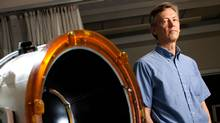 Dr. Kullervo Hynynen has pioneered the use of MRI-guided high-intensity focused ultrasound to treat brain conditions such as tremors and tumours that were previously tough to target. (Tim Fraser)