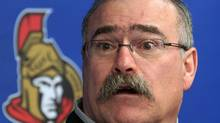 Ottawa Senators coach Paul MacLean holds a news conference on Tuesday May 28, 2013 in Ottawa. (FRED CHARTRAND/THE CANADIAN PRESS)