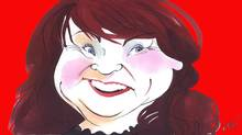Drawn Off Topic: Mary Walsh on the Senate (Anthony Jenkins/The Globe and Mail)