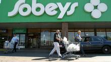 A Sobeys store in Toronto. (Deborah Baic/The Globe and Mail)