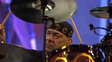"Rush drummer Neil Peart, seen in this file photo, is producing his own version of TSN's ""Hockey Theme"" song. (Sami Siva/The Globe and Mail)"