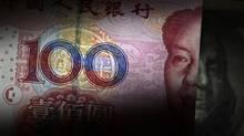 A 100 yuan banknote. (PETAR KUJUNDZIC/REUTERS)