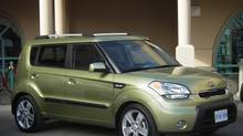2010 Kia Soul (Ted Laturnus for The Globe and Mail)