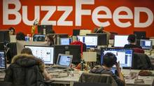 Buzzfeed's Benny Johnson, the site's viral politics editor and specialized in list-based articles about political news, was fired over plagiarism. (Brendan McDermid/Reuters)