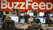 Buzzfeed. (Brendan McDermid/Reuters)