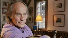 Author Richard Ford at home in East Boothbay, Maine. (Pat Wellenbach / AP)