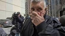 Convicted pedophile Gordon Stuckless was rearrested on new sexual assault charges on March 22, 2013. Nine more counts were added on Nov. 14, 2011 (Fred Lum/The Globe and Mail)