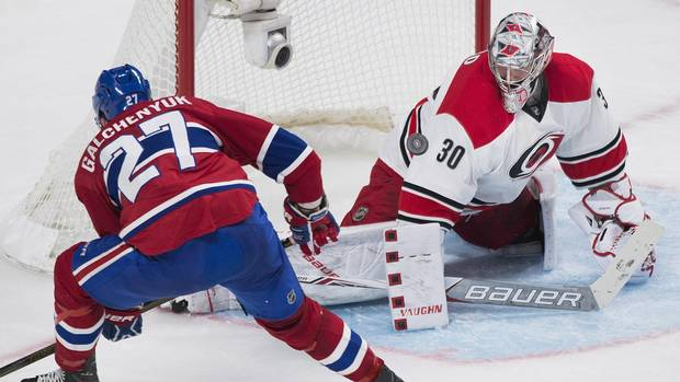 Pacioretty Scores As Canadiens End Hurricanes' Five-game Winning Run With 2-1 Win