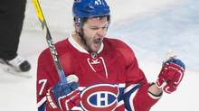 Alexander Radulov has 16 points in 17 games, and the Habs have not won a game with him absent. (Graham Hughes/The Canadian Press)