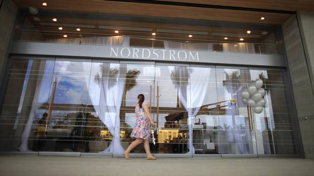 Nordstrom stock drops on lower forecast, adding to retail woes - The Globe and Mail