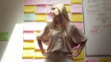 Toronto-based entrepreneur Sarah Prevette has just been named as one of North America's Top 30 Under 30 entrepreneurs by prominent publication Inc. Magazine. She is seen inside her Toronto office on July 29, 2010. (JENNIFER ROBERTS/The Globe and Mail)