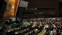 The Millennium Development Goals summit at the United Nations in New York. (JASON REED/Jason Reed/Reuters)