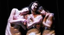 Sara Hanley, Sonya Stefan and Audree Juteau in Nocturnes