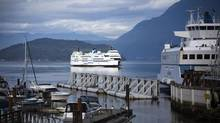 The BC Ferries Horseshoe Bay terminal sees plenty of activity on Oct. 1, 2012. (Rafal Gerszak for The Globe and Mail)