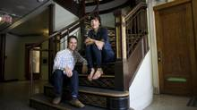 Tyee Bridge and Anne Casselman believe readers will pay for well-constructed long-form pieces, despite the glut of free online content. (Rafal Gerszak/The Globe and Mail)