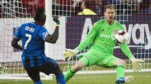Toronto FC keeper Clint Irwin has voiced concern over the election of Donald Trump. (Nathan Denette/The Canadian Press)