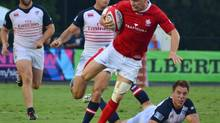 Canada defeated the U.S. in their rugby World Cup qualifying series opener in Charleston, S.C., last week, and can finish the job in Toronto today. (MELISSA GREBBINGS/THE CANADIAN PRESS)