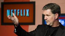Reed Hastings, CEO of Netflix (Adrien Veczan/THE CANADIAN PRESS)