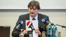 Lawyer Ulrich Weber was tasked with investigating allegations of abuse of children at a boys' choir in Germany. (ARMIN WEIGEL/AFP/Getty Images)