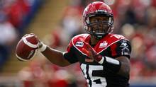 Stampeders quarterback Kevin Glenn has won five of the eight games he's started since taking over the No. 1 job from injured Drew Tate. (Jeff McIntosh/THE CANADIAN PRESS)