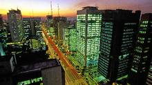 Paulista Avenue, the financial centre of downtown Sao Paolo. (Christian Knepper / Embratur/Christian Knepper)