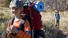 Treks with kids should have a different pace, experts advise. (iStockphoto)