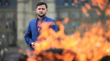 Ukrainian dissident Hennadiy Afanasyev, who is in Ottawa this week meeting with MPs, as jailed and tortured by the Russian government.