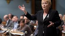 "The alliance between the Marois government and the ""red square"" movement that wrought havoc in Montreal last spring is stronger than ever (Jacques Boissinot/THE CANADIAN PRESS)"