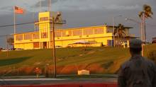 A military courthouse at Guantanamo Bay, Cuba. (Colni Perkel/THE CANADIAN PRESS)