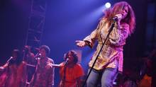'It's mostly about the women who influenced her sound and her,' said Mary Bridget Davies of the Broadway musical A Night With Janis Joplin. (2013 Joan Marcus)