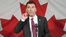 Ottawa MP Paul Dewar takes questions after launching his campaign for the NDP leadership on Oct. 2, 2011. (Adrian Wyld/THE CANADIAN PRESS)