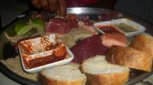 Ethiopia tradition says on the last night before the fast begins, fasters feast on nothing but Ethiopian bread (called injera) and raw beef. (Gary Bearchel)