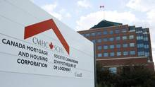 File photo of the Canada Mortgage and Housing Corporation ( CMHC ) complex in Ottawa. (Sean Kilpatrick/Globe and Mail)
