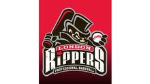 The London Rippers baseball team logo is shown in a handout photo. (The Canadian Press/The Canadian Press)