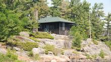 Classic Georgian Bay cottage on the private, two-acre Good News Island at Pointe au Baril, Ont., is on the market for $1.45-million.