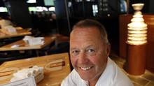 Richard Peddie, President and CEO of Maple Leaf Sports Entertainment poses for a photo in the Real Sports Bar and Restaurant in Toronto, Ontario, Canada. (Deborah Baic/Deborah Baic/The Globe and Mail)