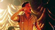 Brandon Flowers in performance