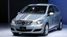 2011 Mercedes Benz F-Cell Hydrogen Fuel-Cell (Mario Anzuoni/Reuters)