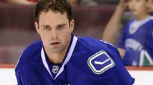 Dan Hamhuis #2 of the Vancouver Canucks . (Photo by Rich Lam/Getty Images) (Rich Lam/2010 Getty Images)