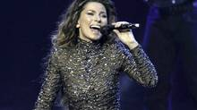 Shania Twain performs at The Colosseum at Caesars Palace in Las Vegas, Dec.1, 2012. (Eric Jamison/Associated Press)
