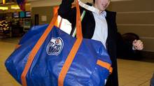 'I'm really excited to get going,' Ryan Nugent-Hopkins said Monday about Canada's selection camp in Calgary. (Jeff McIntosh/THE CANADIAN PRESS)