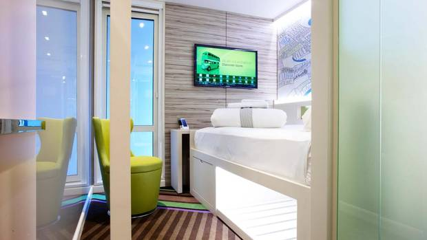 The new hotel concept 'hub by Premier Inn' is set to launch in London next summer. What sets it apart: rooms that measure just 11.4 square metres (122.7 square feet). (WHITBREAD)