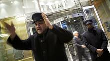 The Trump buildings's 261 hotel condos are at the centre of a controversy. (Kevin Van Paassen/The Globe and Mail)