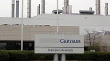 Chrysler Canada's Brampton Assembly plant is seen April 30, 2008. (Peter Jones/Reuters)